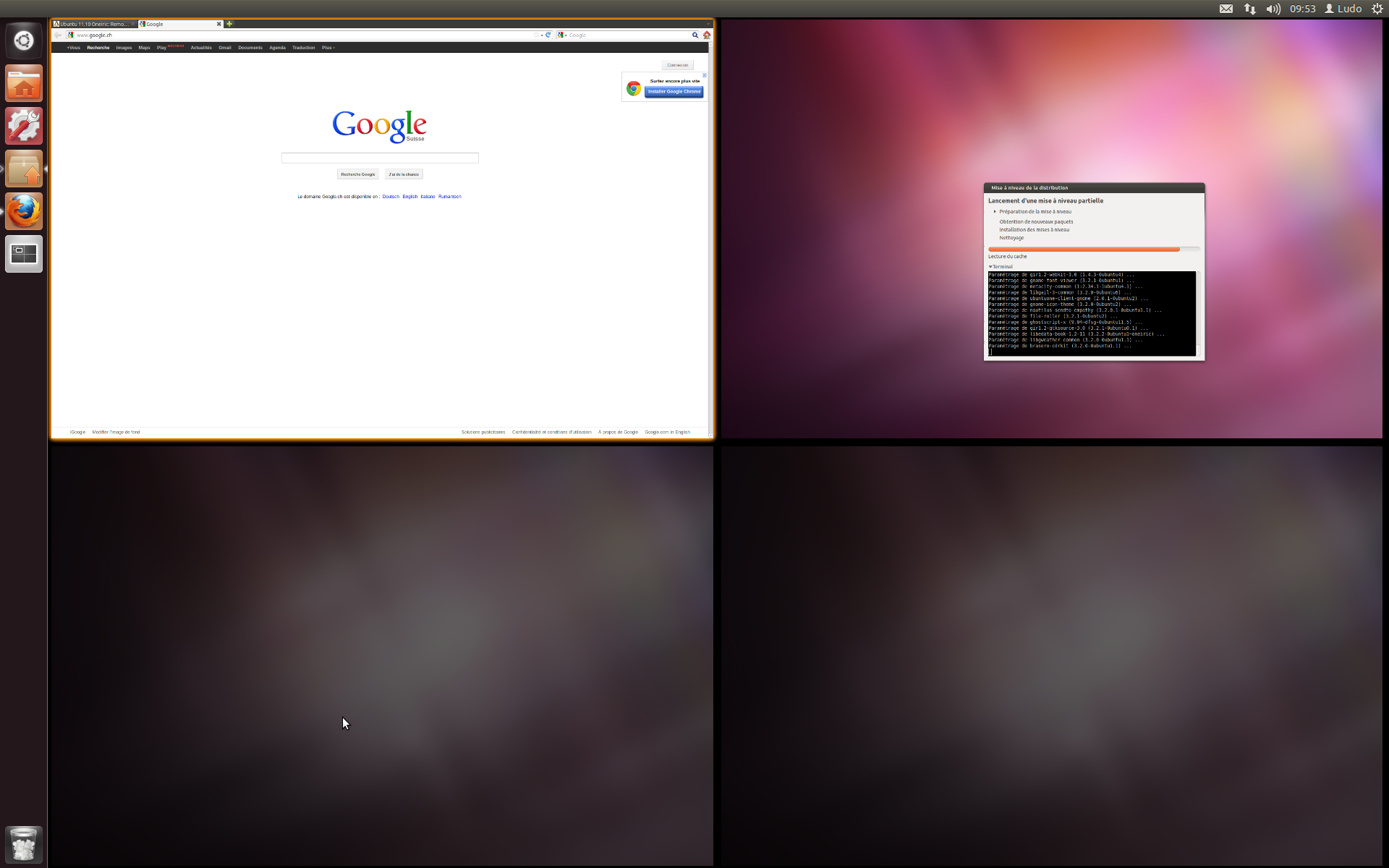 Ubuntu 11.10 avec Unity